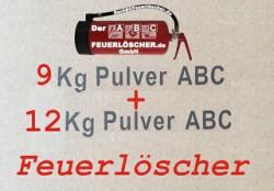 9 + 12 kg Pulver-Dauerdruck