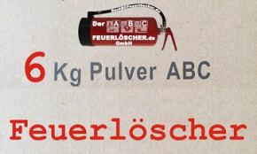 6 kg Pulver-Dauerdruck
