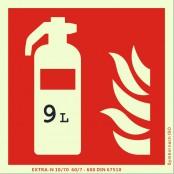 9 Liter Wasser-Dauerdruck