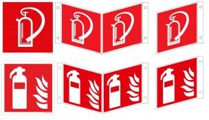 Feuerlöscher-Schilder ISO
