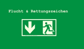 Flucht-Rettungswegzeichen ISO