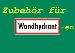 Wandhydranten Zubehör