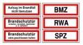 RWA / BMZ / SPZ / Aufzug / Brandschutztür....