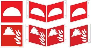 Mittel und Gerät zur Brandbekämpfung ISO
