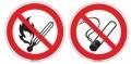 Rauchen/ Feuer... verboten ISO
