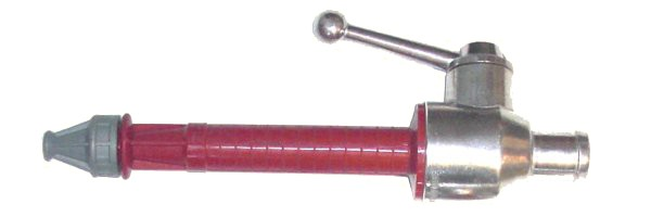 """DMW-Strahlrohr nach DIN 14365 mit 1 """" Stutzen (DN 25mm)"""