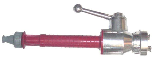DM-Strahlrohr nach DIN 14365 mit mit D-Storz Kupplung, Kugelhahn