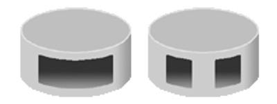 Bleiplomben 8 mm Ø, 1 kg Beutel ca 800 St.