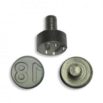 Plombenzangeneinsatz Edelstahl 8 mm Gravur Jahr 18