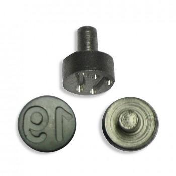 Plombenzangeneinsatz Edelstahl 8 mm Gravur Jahr 19