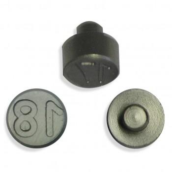 Plombenzangeneinsatz Edelstahl 10 mm Gravur Jahr 18