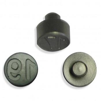 Plombenzangeneinsatz Edelstahl 10 mm Gravur Jahr 19
