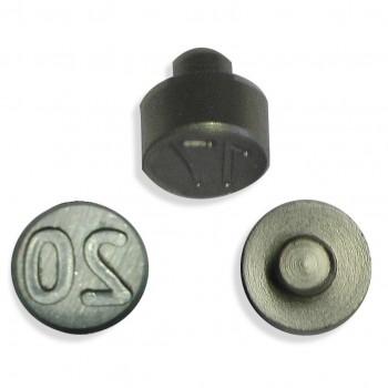 Plombenzangeneinsatz Edelstahl 10 mm Gravur Jahr 20