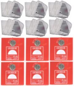 DickesPack 6 x Löschdeckenbehälter Gr. L 30xB 30xT 15 cm + 6 x Löschdecke 160x180 cm