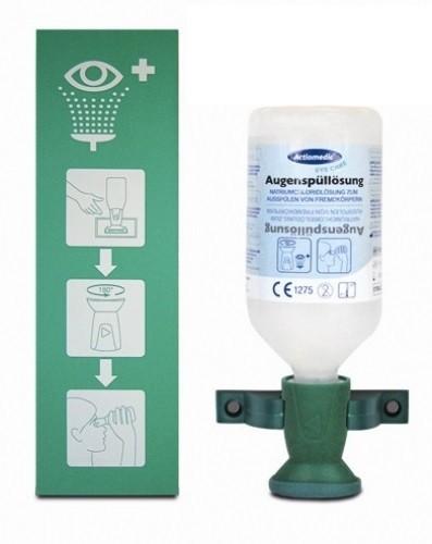 Augenspülstation inkl. Augenspülflasche mit Natriumchloridlösung (0,9%) haltbar bis 06/2020