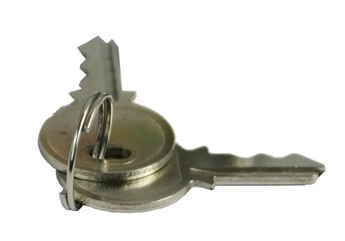 1 St. Ersatz Schlüssel für Stahlblechschutzschrank