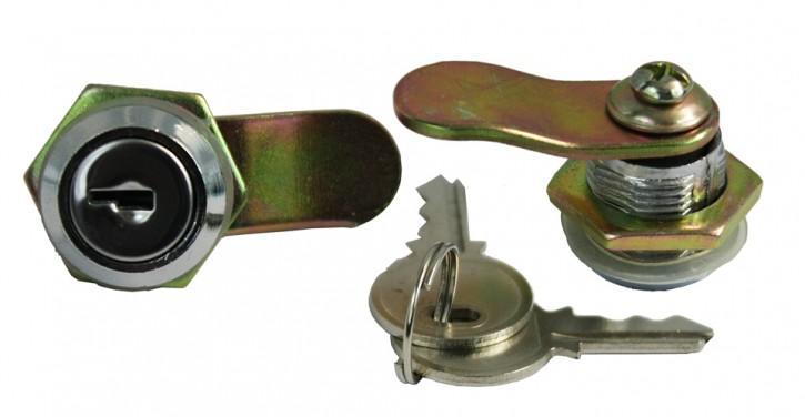 Ersatz- Schloß (gleichschließend) inkl. 2 Schlüssel