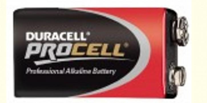 9 Volt DURACELL PROCELL Blockbatterie