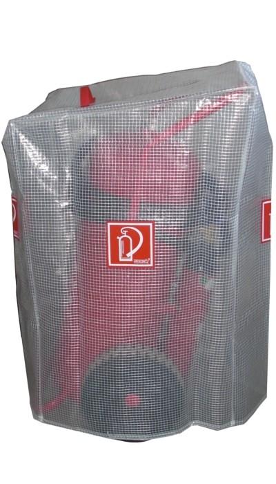 Gitternetzschutzhaube für 50 kg/ L Feuerlöscher Löschwagen fahrbar