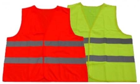 Warnweste/ Sicherheits- Weste orange Größe: XXXXL