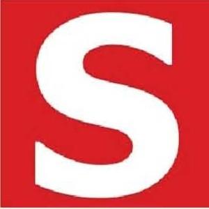 Zusatzschild S- Selbsthilfe- zum Aufkleben Gr.: 40 x 40 mm