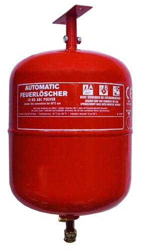 10 kg  Automatik-ABC-Pulver- Dauerdruck- Feuerlöscher CE, mit oder ohne Instandhaltungsnachweis erhältlich!