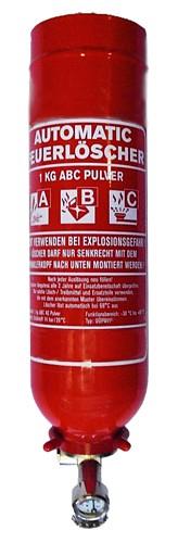 1 kg  Automatik- ABC-Pulver-Dauerdruck- Feuerlöscher CE, mit oder ohne Instandhaltungsnachweis erhältlich!