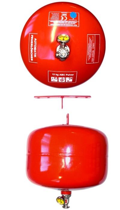 12 kg  Automatik-ABC-Pulver- Dauerdruck- Feuerlöscher CE, mit oder ohne Instandhaltungsnachweis erhältlich!