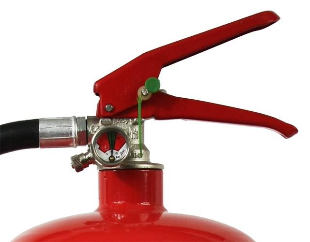 3 er Paket = 3 St  6 L Fettbrand Dauerdruck-Feuerlöscher DIN EN 3 SP 171/15 , GS, Rating: 34 A, 233 B, 75 F = 10 LE ,  außenliegendes Prüfventil