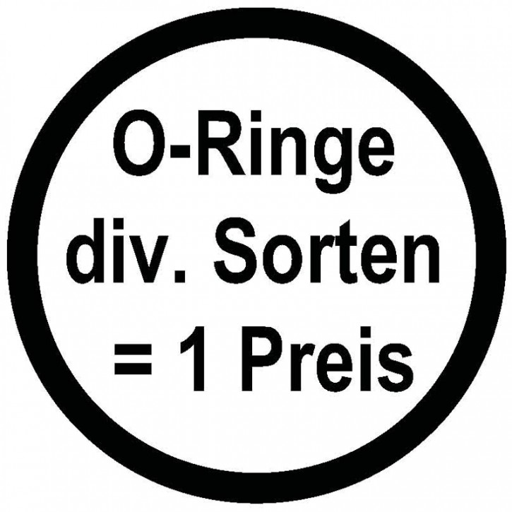 O- Ring 36 x 3 Farbe: schwarz