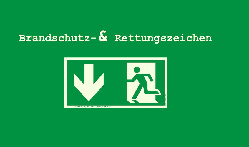 Brandschutz-/Rettungszeichen ISO