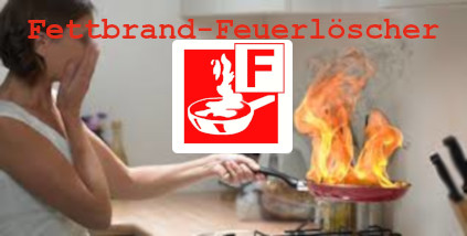 Fettbrand-Dauerdruck