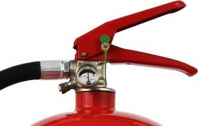 6 kg Feuerlöscher auch für Österreich Pulver ABC DIN EN 3 GS Haushalt Wandhalter Manometer, mit oder ohne Instandhaltungsnachweis erhältlich!