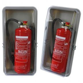 Schutzbox für 6 kg Feuerlöscher Feuerlöscherkasten Schutzhaube  Feuerlöscherschutzschrank LKW