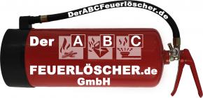 6 kg Feuerlöscher auch für Österreich Pulver ABC DIN EN 3 GS Gewerbe Wandhalter Manometer, mit oder ohne Instandhaltungsnachweis erhältlich! 55 A, 233 B, C = 15 LE, Messingarmatur Sicherheitsventil